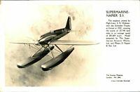 Supermarine Napier S 5 RPPC postcard The Science Museum seaplane