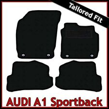 Audi A1 Sportback 5-Door Mk1 2010-2018 Tailored Carpet Car Floor Mats BLACK