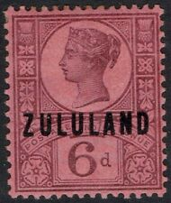 ZULULAND 1888 QV GB 6D