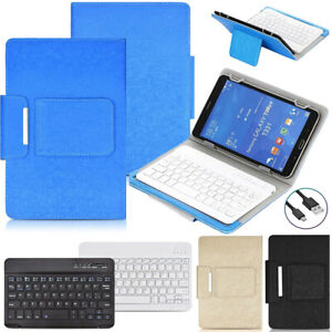 """Universal Keyboard Cover Case For Apple iPad 5/6th 9.7"""" 7th 8th 10.2"""" 10.9"""" Pro"""