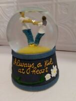 Musical Rotating Glitter Globe  Westland Giftware 2009 Have a Listen in Ad!