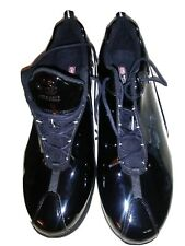 Marc Ecko Mens Shoes Black Patent Leather Sz 15 15M Basketball New