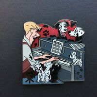 Walt's Classic Collection 101 Dalmatians - Roger Playing Piano Disney Pin 73765