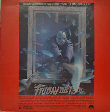 "OST - SOUNDTRACK - FRIDAY THE 13TH - HARRY MANFREDINI  12""  LP (M980)"