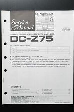 PIONEER DC-Z75 Original Service-Manual/-Anleitung/Schaltplan! O5