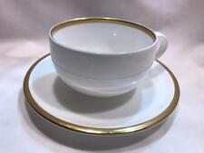 Wedgwood Plato Gold Fine Bone China Teacup And Saucer New