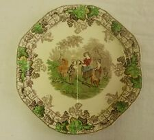 Beautiful Copeland Spode SPODES Spode's Byron sectioned sandwich plate