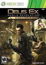 Deus Ex Human Revolution: Director's Cut - Xbox 360 Brand New