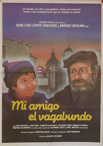 Mi amigo el vagabundo -- Cartel de Cine Original --