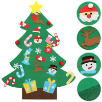 Felt Christmas Tree Set Kids DIY Xmas Gifts Xmas Wall Hanging Decor Art & Craft
