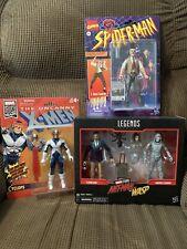 Marvel Legends lot New Package! Retro Cyclops & J. Jonah Jameson. Ant Man 2 Pack