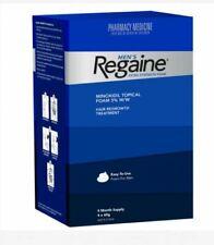 REGAINE MEN EXTRA STRENGTH FOAM HAIR REGROWTH TREATMENT 4 MONTHS SUPPLY 4 X 60G