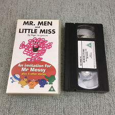 Mr Men - An Invitation For Mister Messy And Five Other Stories (VHS, 2002)