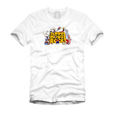 School House Rock Cartoon Education Teacher Cool White T-Shirt