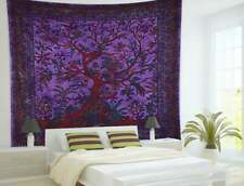 Tree of life bohemian bedspread mandala ethnic tapestry hippie wall hanging
