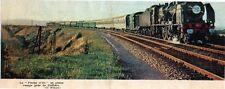 1968  --  TRAIN LA FLECHE D OR EN PLEINE RAMPE DE COFFIERS   3L412