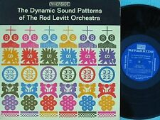 Rod Levitt ORIG US LP Dynamic sound patterns VG+ '64 DG Riverside RM471 Jazz