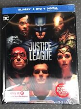 Justice League Blu-Ray DVD Digital HD Lenticular Digibook Target New Sealed