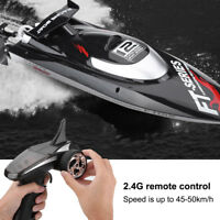 FeiLun FT012 50km/h Racing Boat Speedboat Toy 2.4GHz Remote Control Ship a#GD