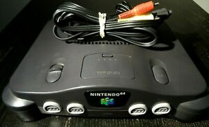 Nintendo 64 N64 Console Only Expansion Pack Pak OEM Original With Cords