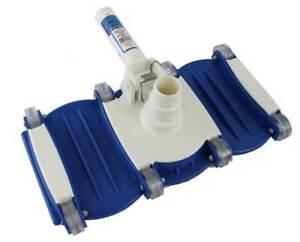 Swimline Hydrotools Weighted Flex Vacuum Head Swimming Pool Cleaner