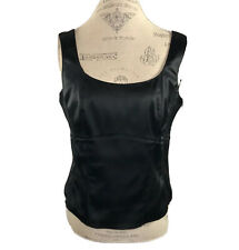 Jean Paul Corset Black With Full Side Zip Detailing  Fitted Attractive Top
