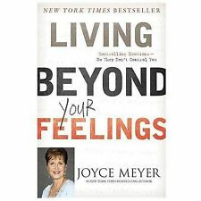 Living Beyond Your Feelings by Joyce Meyer Paperback Controlling Emotions PB Bk