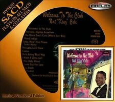 Welcome to the Club by Nat King Cole (SACD, Mar-2013, Audio Fidelity) NEW