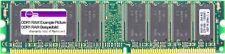 256MB blue media DDR1 RAM PC2100U 266MHz Desktop Arbeits-Speicher Memory-Module
