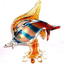 Sommerso Fisch  Murano Glasfisch Barovier & Toso um 1960/70