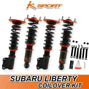 K-SPORT COILOVER SUSPENSION SUIT SUBARU LIBERTY BM9/BR9