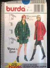 Pattern Burda 3342, misses' coat and skirt, jacket, pencil skirt, sz 6-18