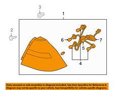 Chevrolet GM OEM 09-11 Aveo-Taillight Tail Light Lamp Assy Right 96943586