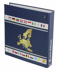 Safe Albums Euro Coin Sets Album for 1c to 2€uro Suitable for All Euro Countries