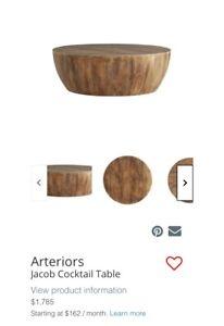 arteriors jacob cocktail table