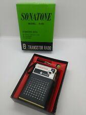 Vintage Sonitone transistor radio working