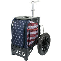 Wingz Disc Golf * FREE SHIP * New DYNAMIC COMPACT CART BY ZUCA * Stars & Stripes