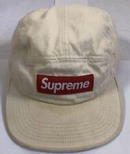 Supreme Washed Chino Twill Camp Cap Lt Grey Hat