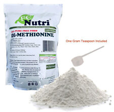 DL-Methionine Powder 100%pure 2.2lb (1000 grams) By FCNutri