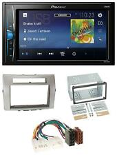 Pioneer 2DIN MP3 USB AUX Autoradio für Toyota Corolla Verso 04-09 silber