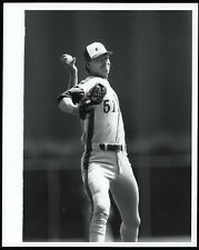 Randy Johnson 1989 Rookie Montreal Expos Young Prospect Type 1 Original Photo