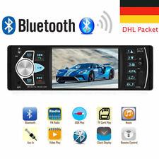 Autoradio mit Bildschirm Bluetooth Freisprech Display Video Monitor USB SD