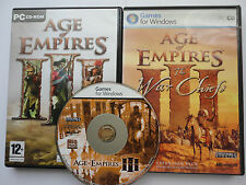 Age of Empires 3 game War Chiefs Asian Dynasties for Microsoft Windows PC CD ROM