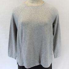 NEW Pure Jill J Jill Woman Plus Size Top Tunic Grey Blouse Stretch w/pockets 4X