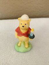 Willitts Design Classic Winnie The Pooh w Candle Walt Disney Co Figurine Rare!