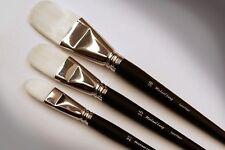 Michael Lang Artist Brushes Set, Exclusive Design 3 Pack Mix Lang Painting Brush