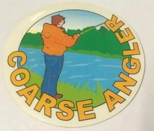 Coarse Angler / CLASSIC FISHING STICKER / Sticker / Fishing