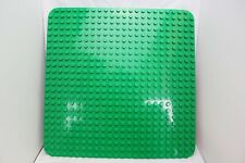 LEGO Duplo Base Plate Board Green Large Round Corners 22 x 22 Pin Stud