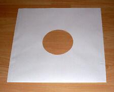 10 Papierhüllen weiss white für Schallplatten 12'' Zoll Innenhüllen Sleeve Neu