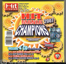 HIT MANIA CHAMPIONS 2007 dance Cofanetto 4 CD